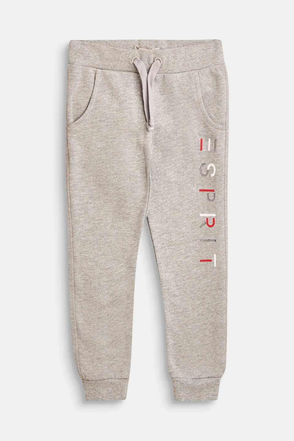 Esprit - Tracksuit bottoms with a shiny logo