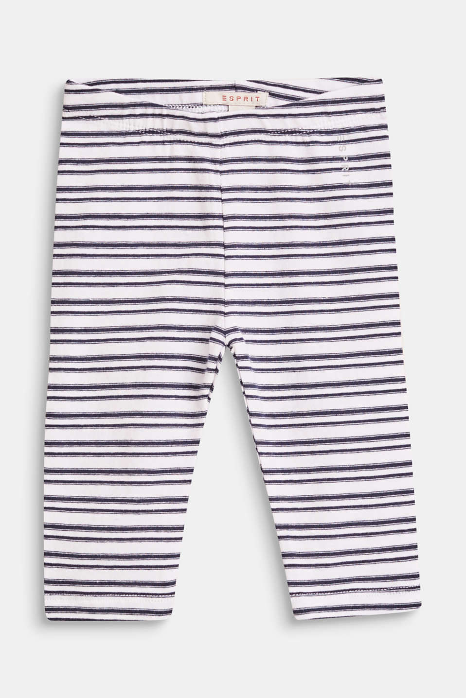 Esprit - Stretch cotton leggings with all-over print