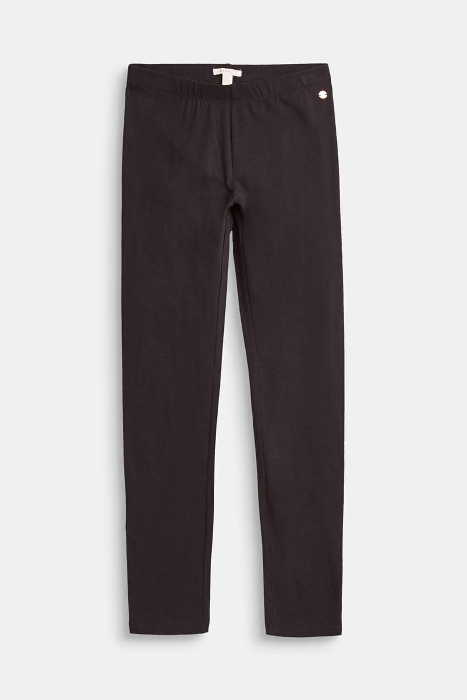 Esprit - Soft basic leggings made of stretch cotton