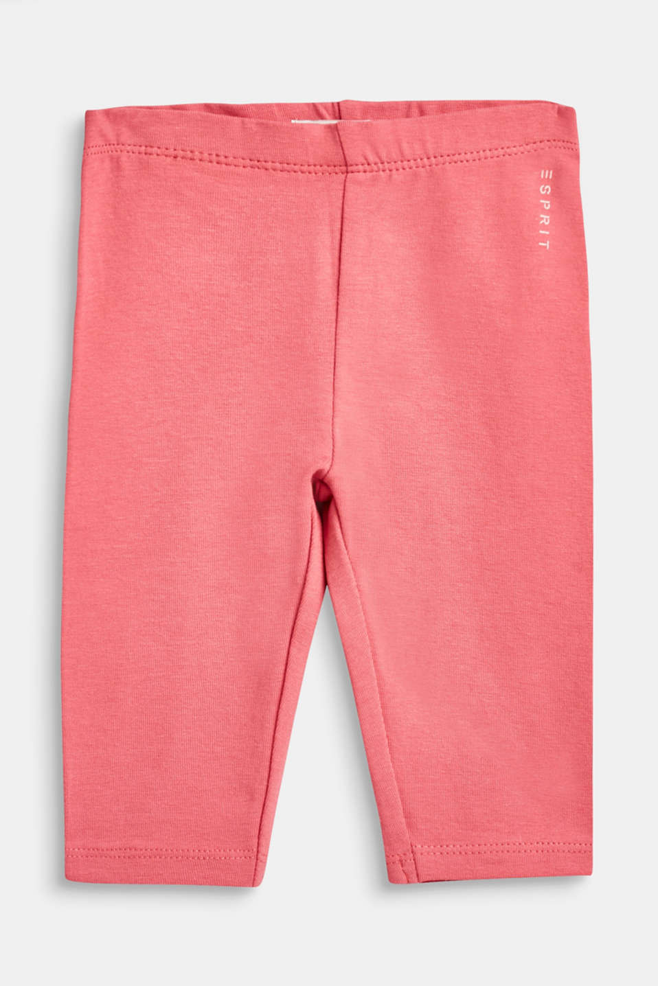 Esprit - Basic stretch cotton leggings