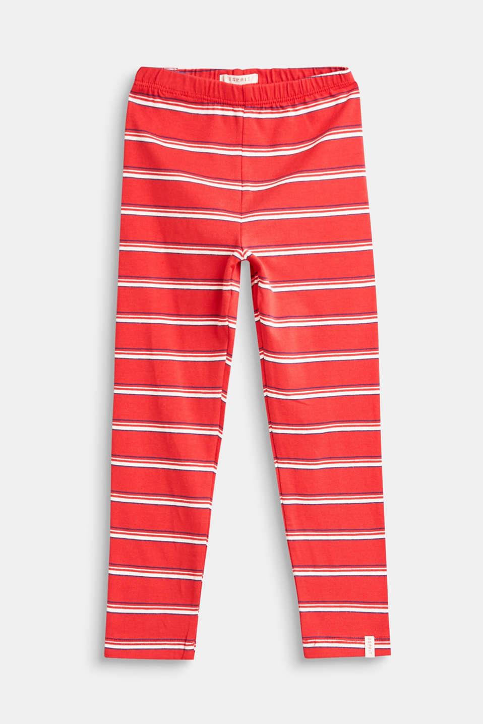These striped leggings made of comfy, stretchy cotton are a brilliant basic.