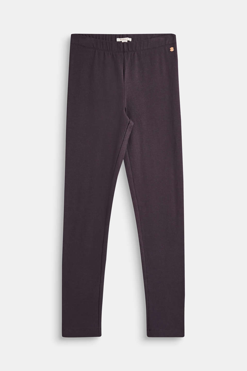 Esprit - Cotton blend jersey leggings