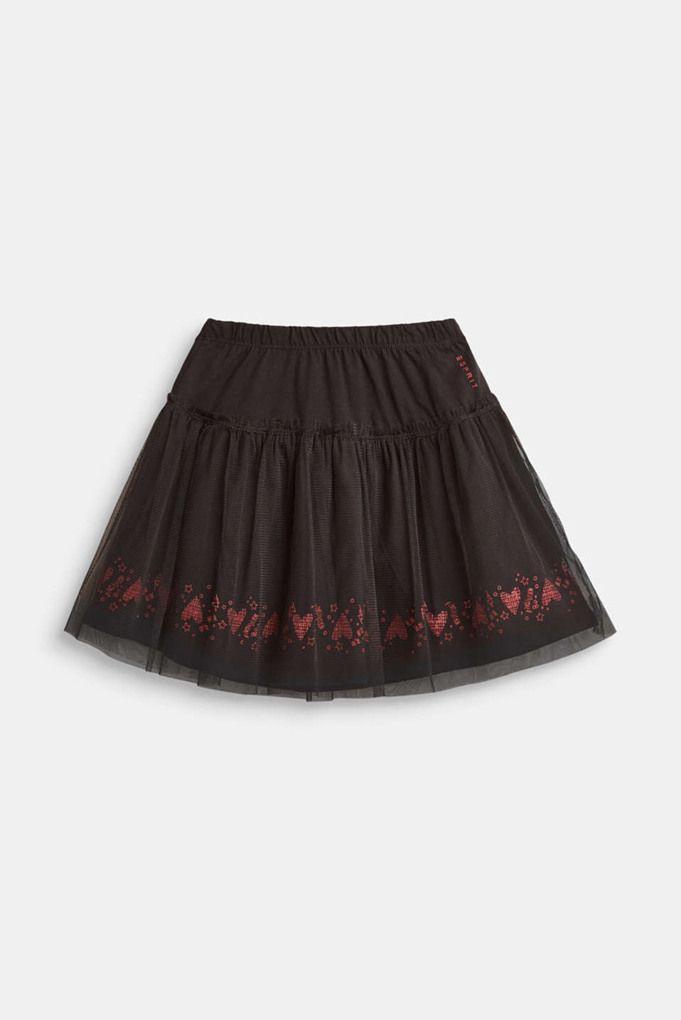 Esprit - Tulle skirt with a glitter print