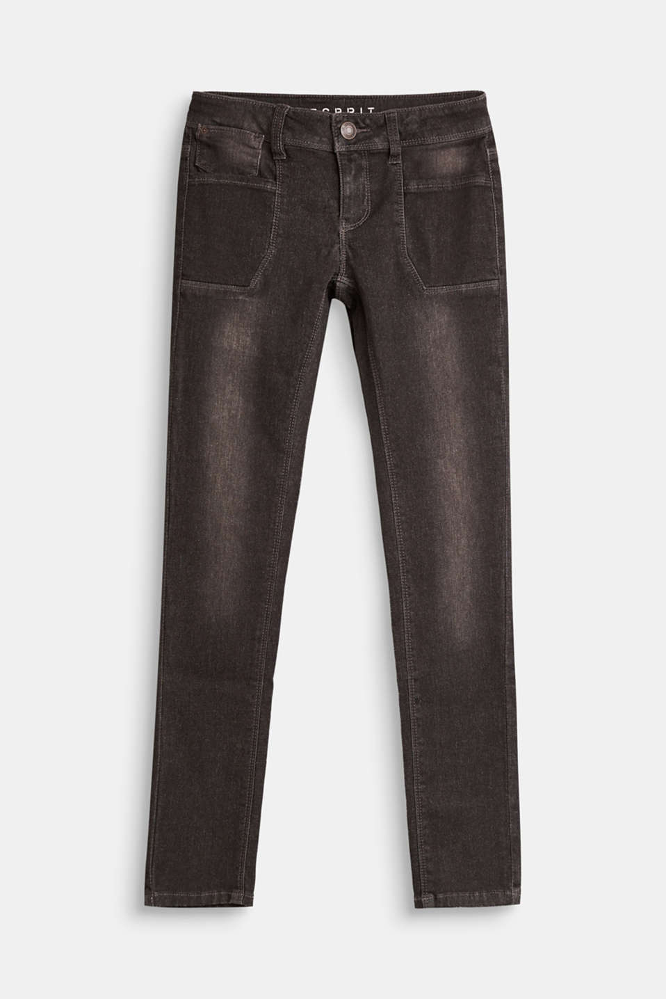 Esprit - Stretch jeans with pocket details