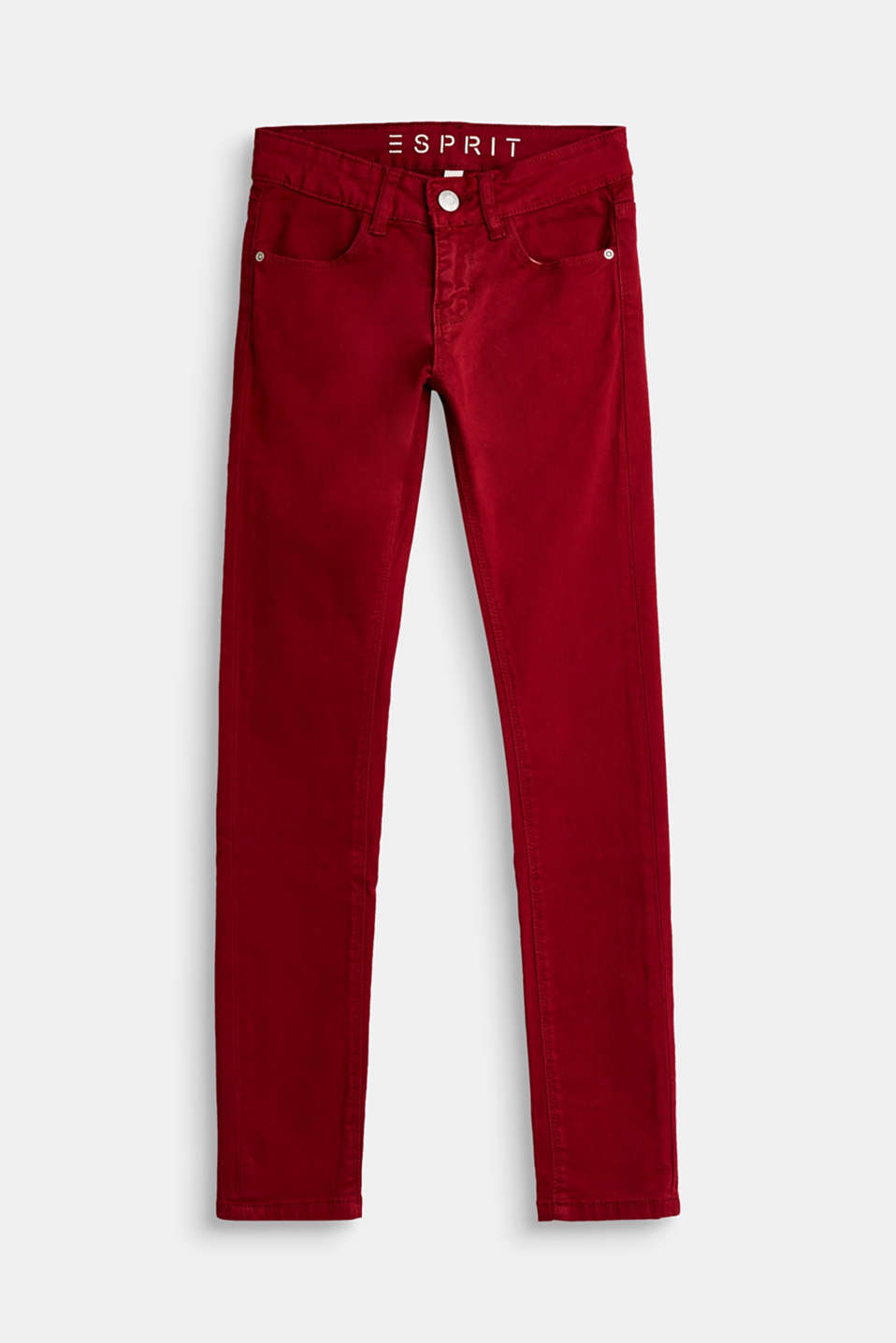 Esprit - Stretch jeans in exciting trend colours