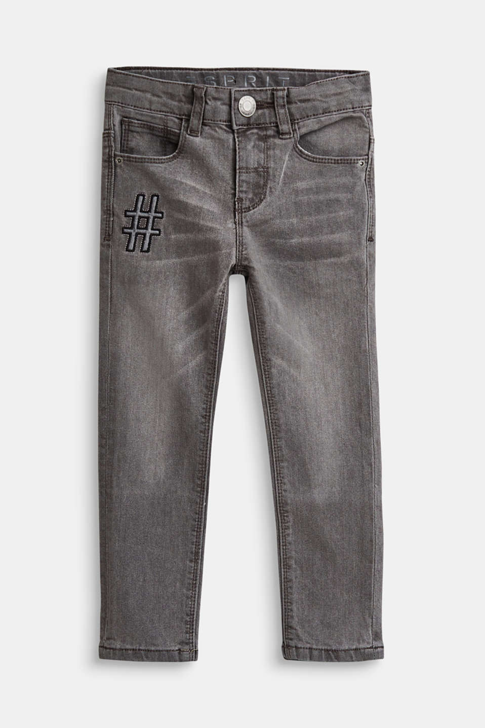 Esprit - 11 - denim pants grey