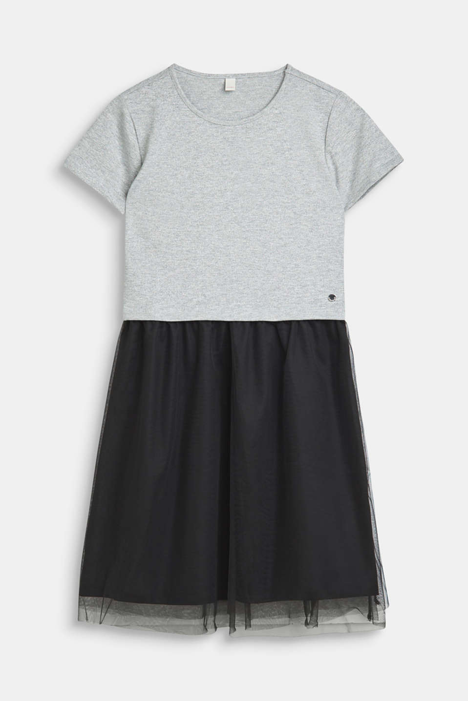 Esprit - Dress with glitter top and tulle skirt