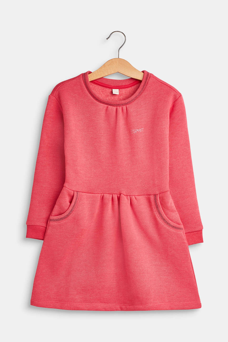 Esprit - Sweatshirt dress with glitter details