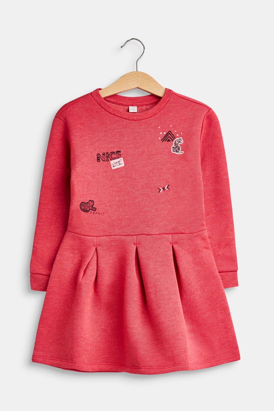 Esprit - Sweatshirt dress with print