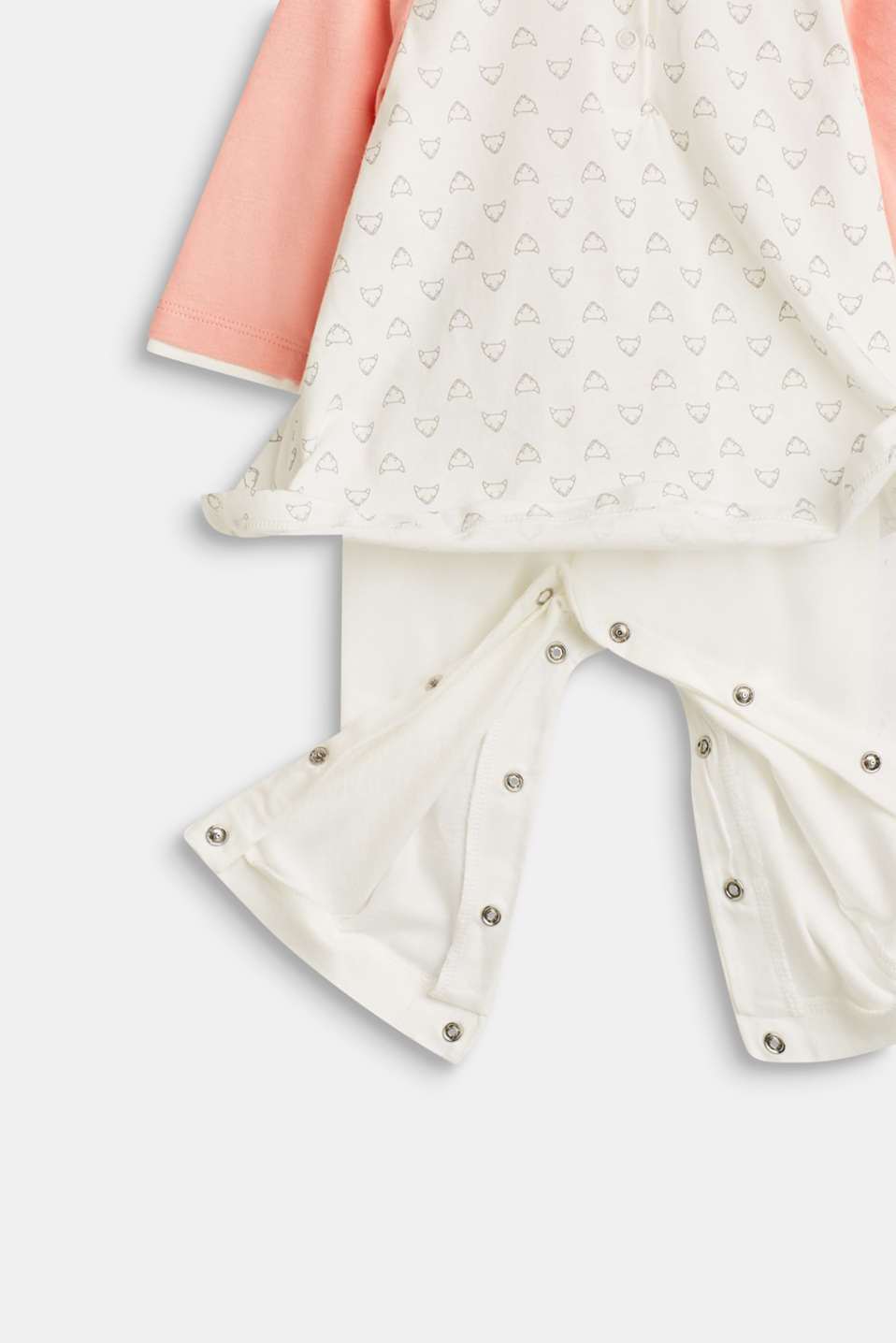 Overalls knitted, LCOFF WHITE, detail image number 3
