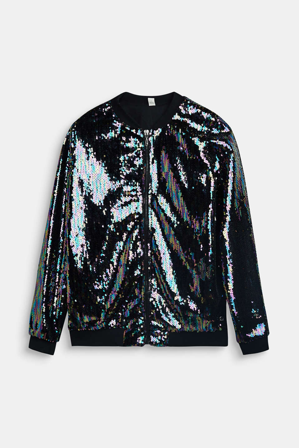 Esprit - Jacket with appliquéd sequins