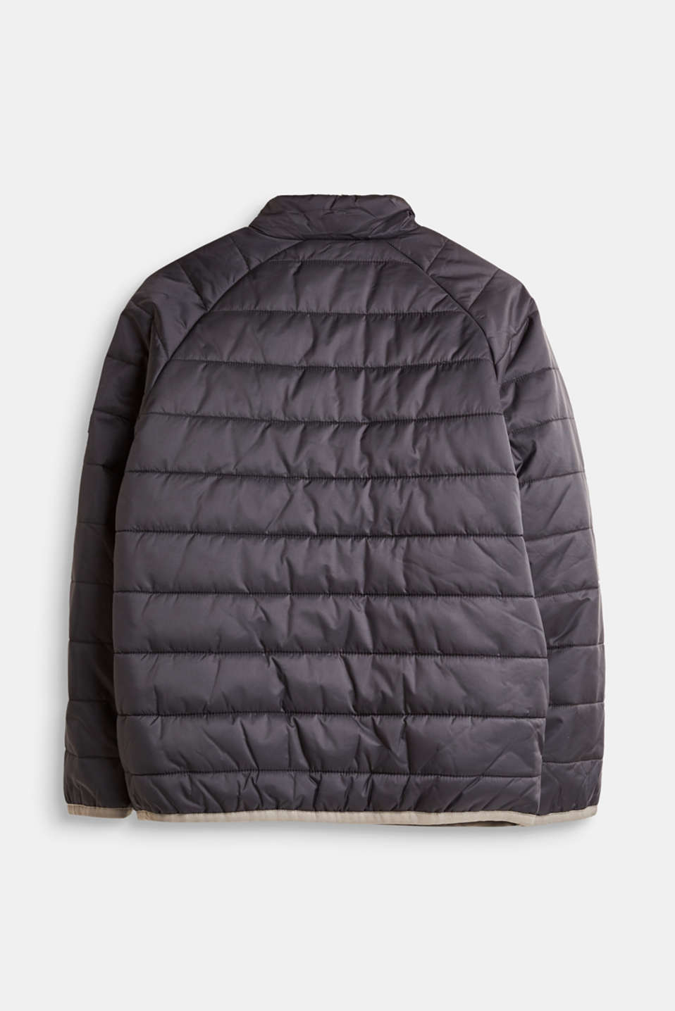 Lightweight quilted jacket with a stand-up collar