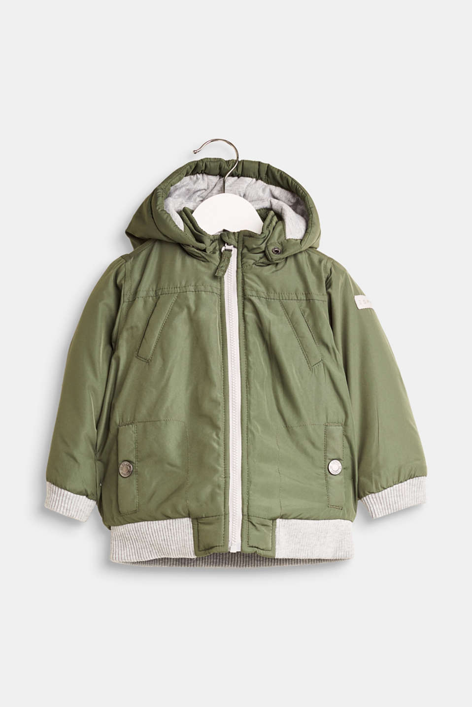 Esprit - Padded jacket with adjustable hood