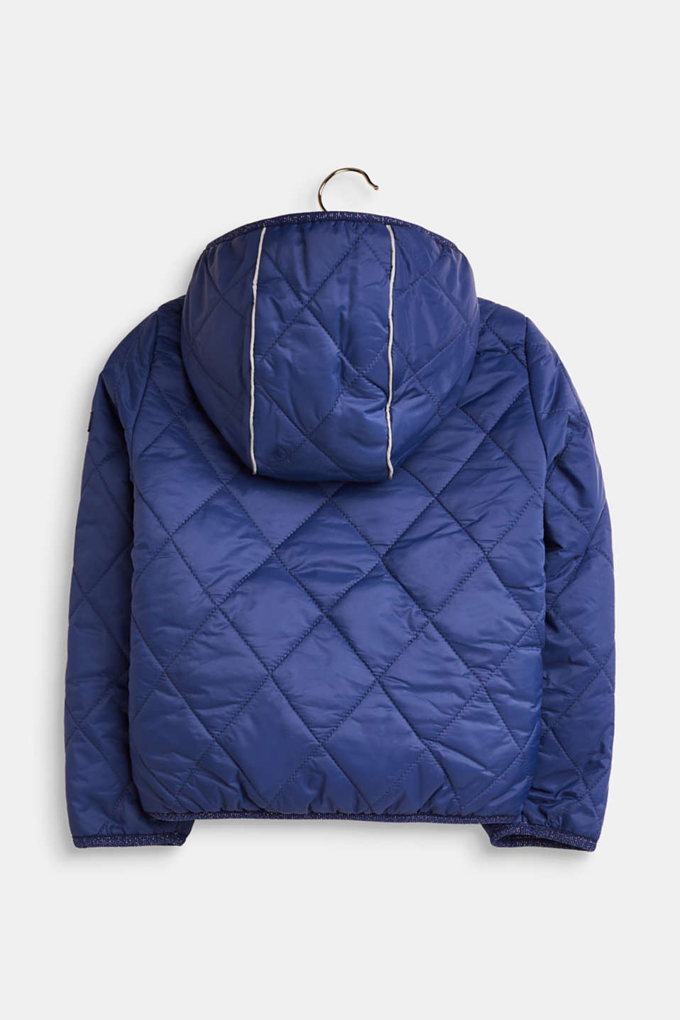 Quilted jacket with fleece lining, LCMARINE BLUE, detail image number 1