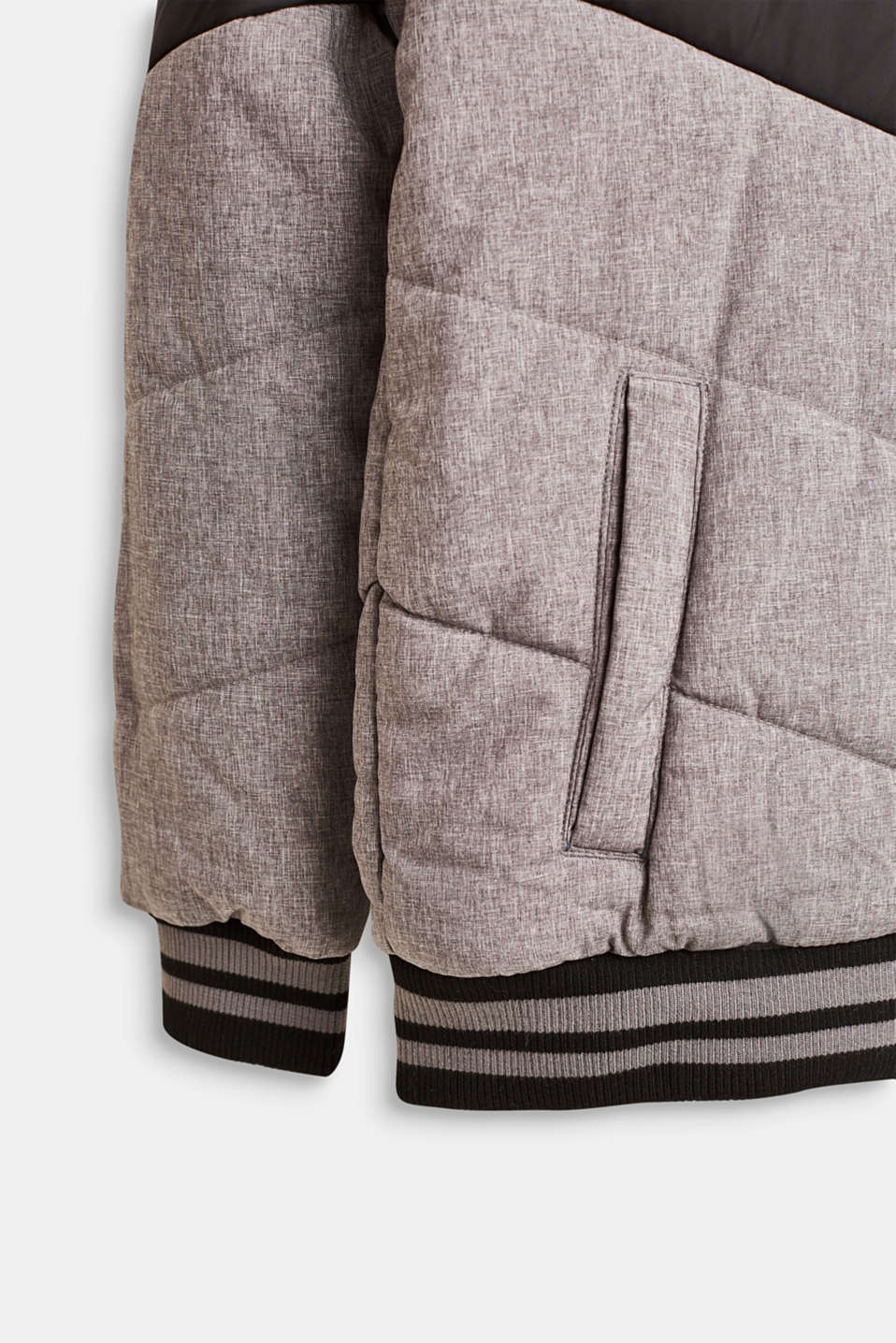 Jackets outdoor woven, LCDARK HEATHER G, detail image number 5