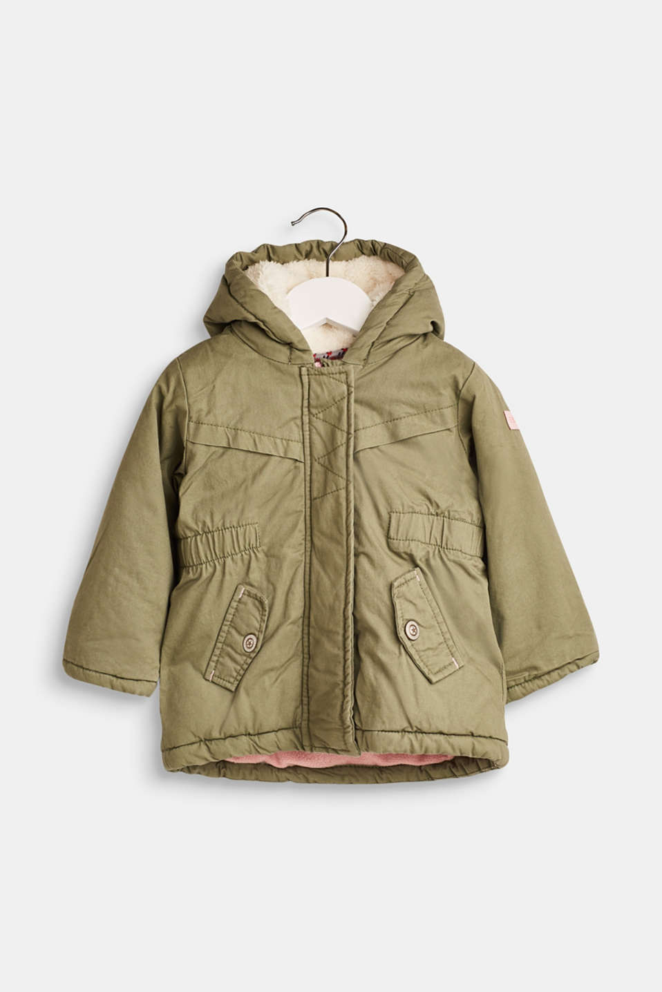 Esprit - Padded parka with a hood