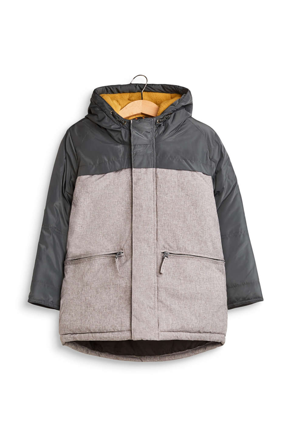 Esprit - Outdoor parka with a hood and pockets