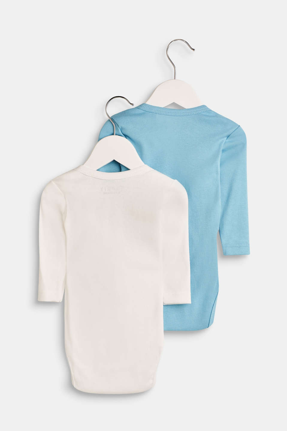 2-pack of bodies with organic cotton