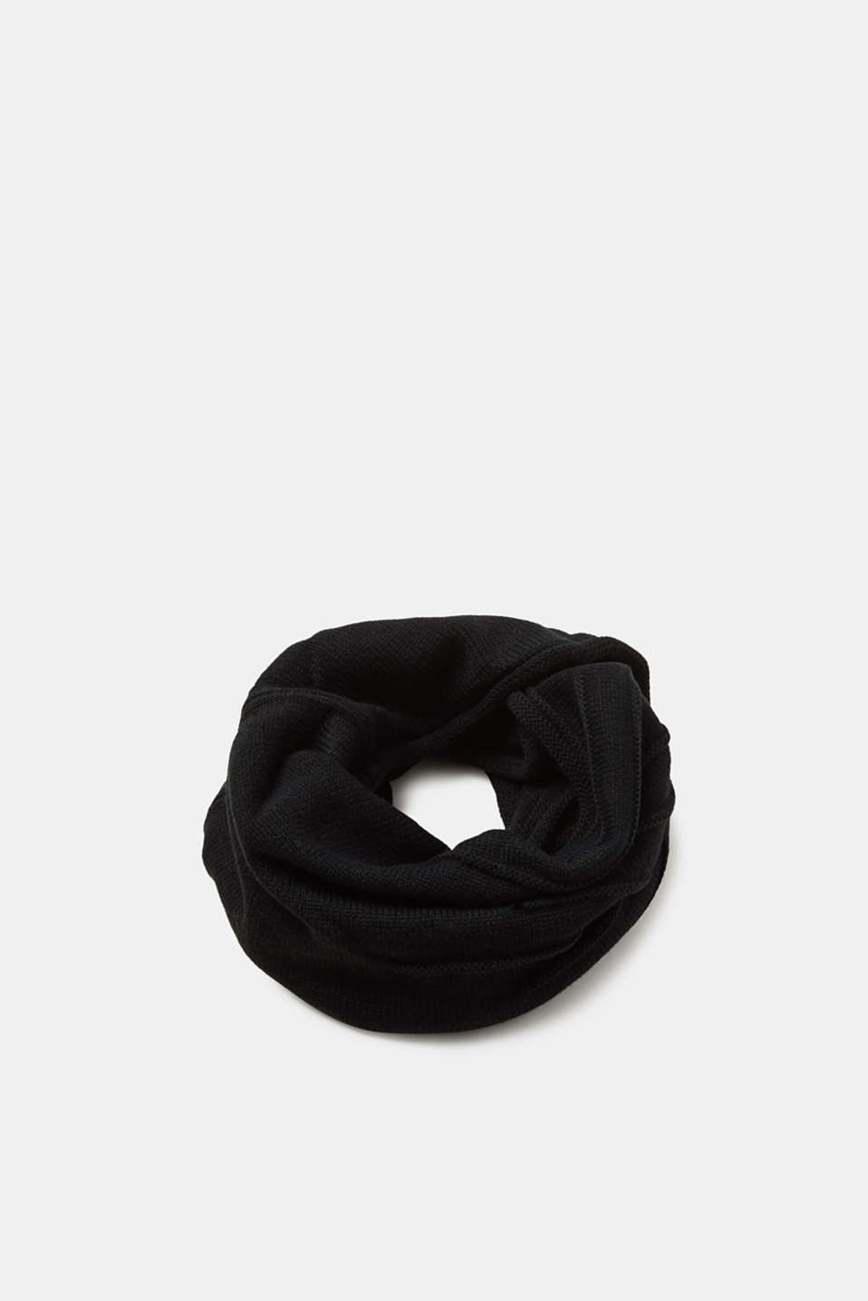 Esprit - Knit snood with a textured pattern