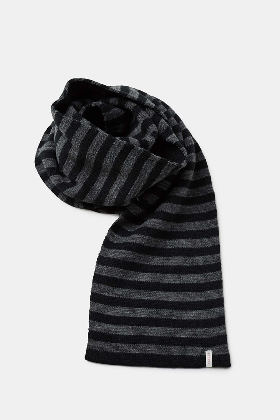 Esprit - Double-faced knit scarf