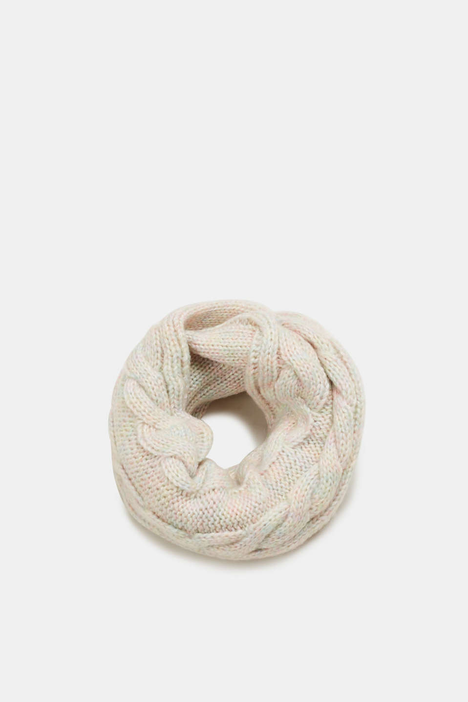 Esprit - Snood in striking cable knit yarn