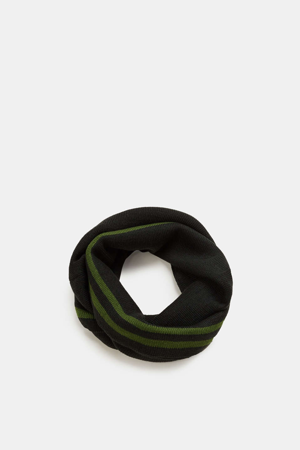 Esprit - Knit snood with stripes