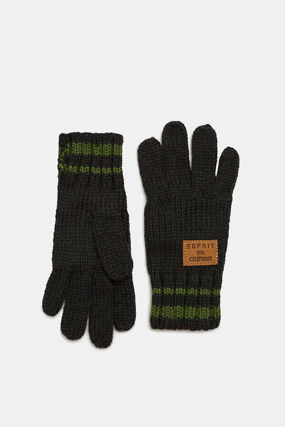 Esprit - Gloves knit in soft yarn