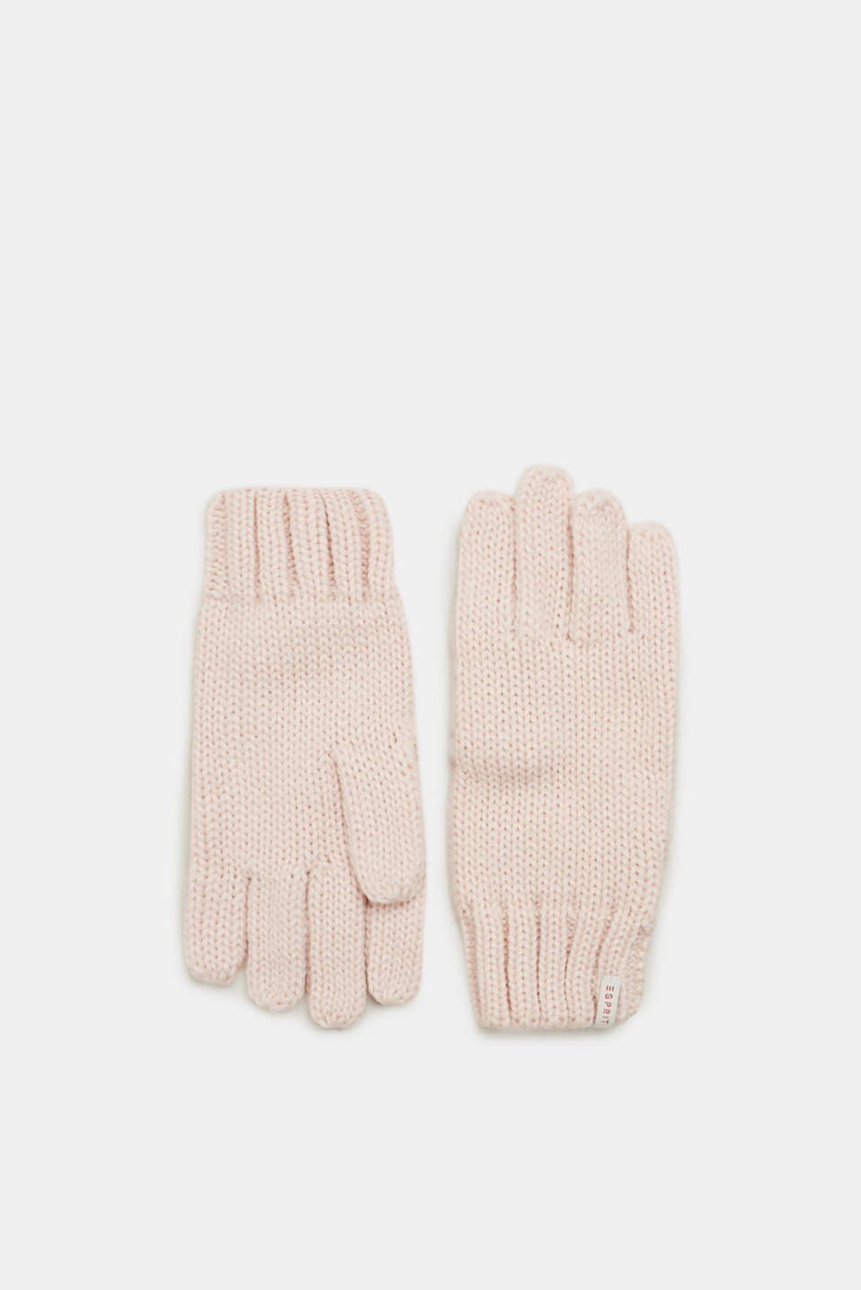Esprit - Basic gloves knitted in soft yarn