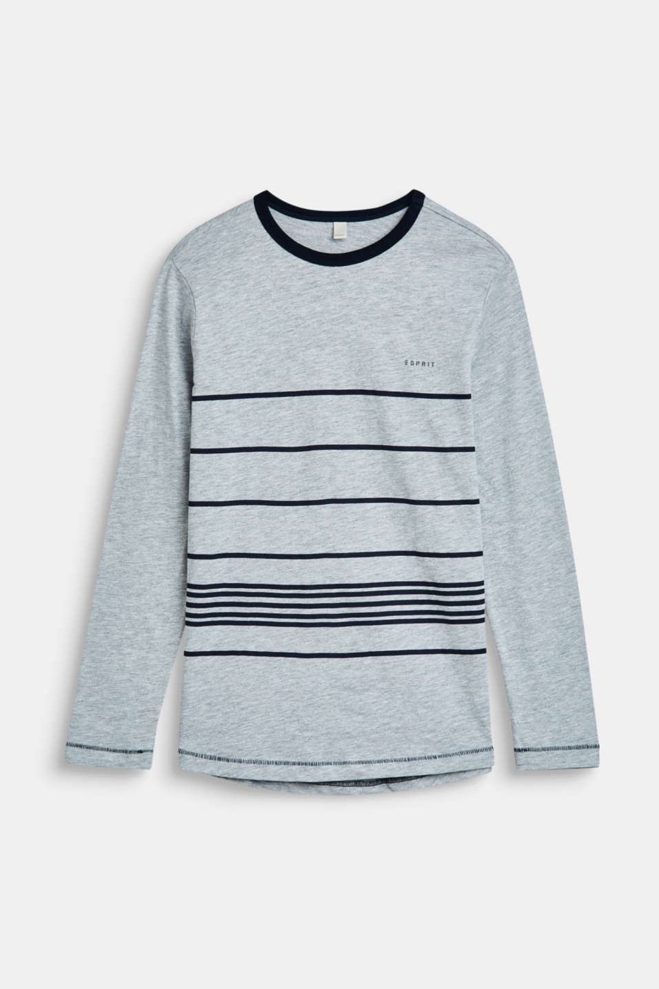 Esprit - Long sleeve top with stripes