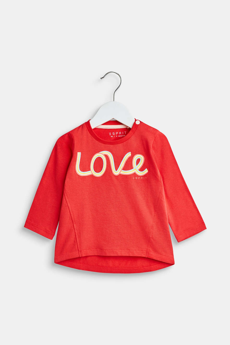 Esprit - 12 - t-shirt ls rainbow love