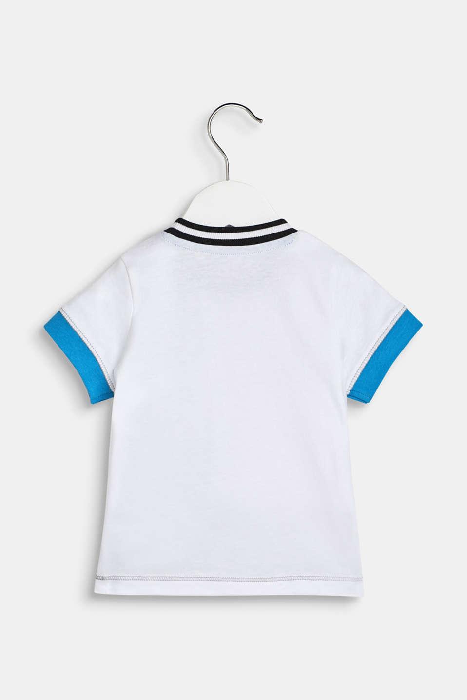 Statement print T-shirt, LCWHITE, detail image number 1