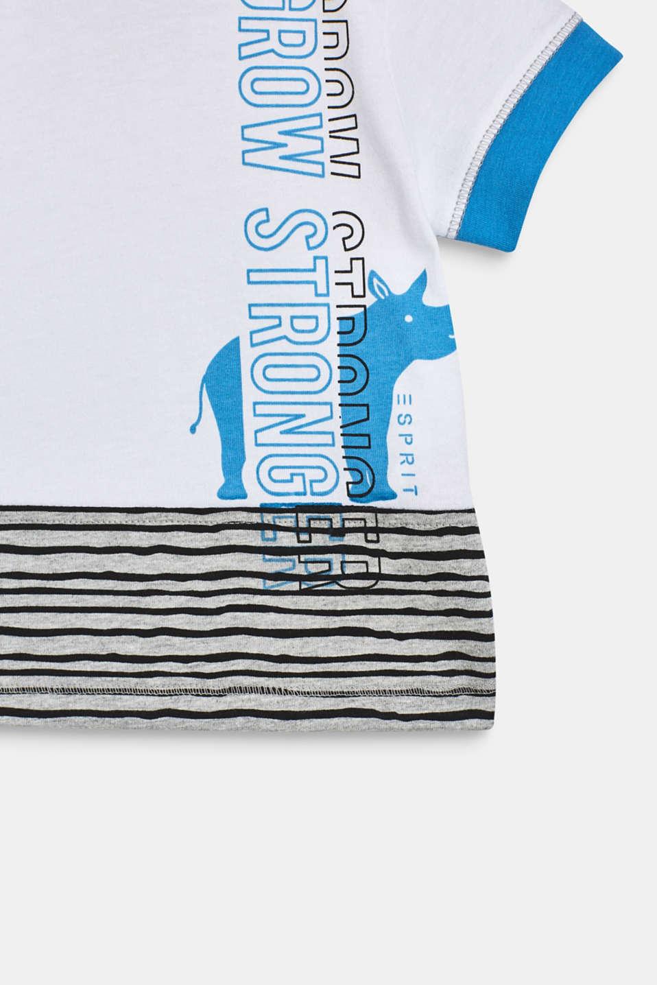 Statement print T-shirt, LCWHITE, detail image number 3