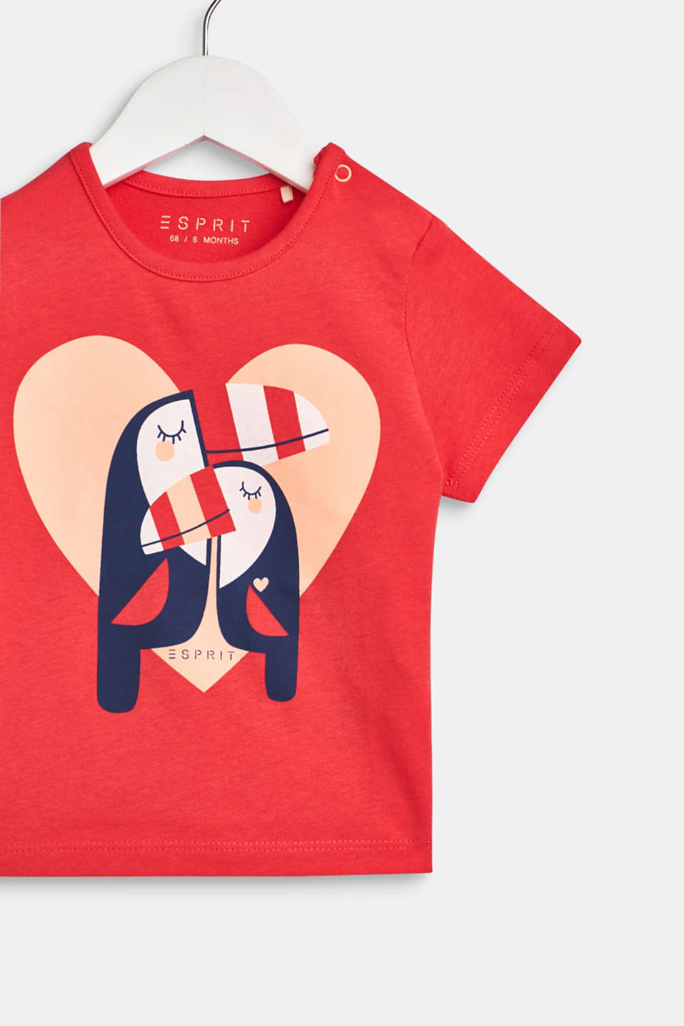 T-shirt with toucan print, 100% cotton, LCWATERMELON, detail image number 2