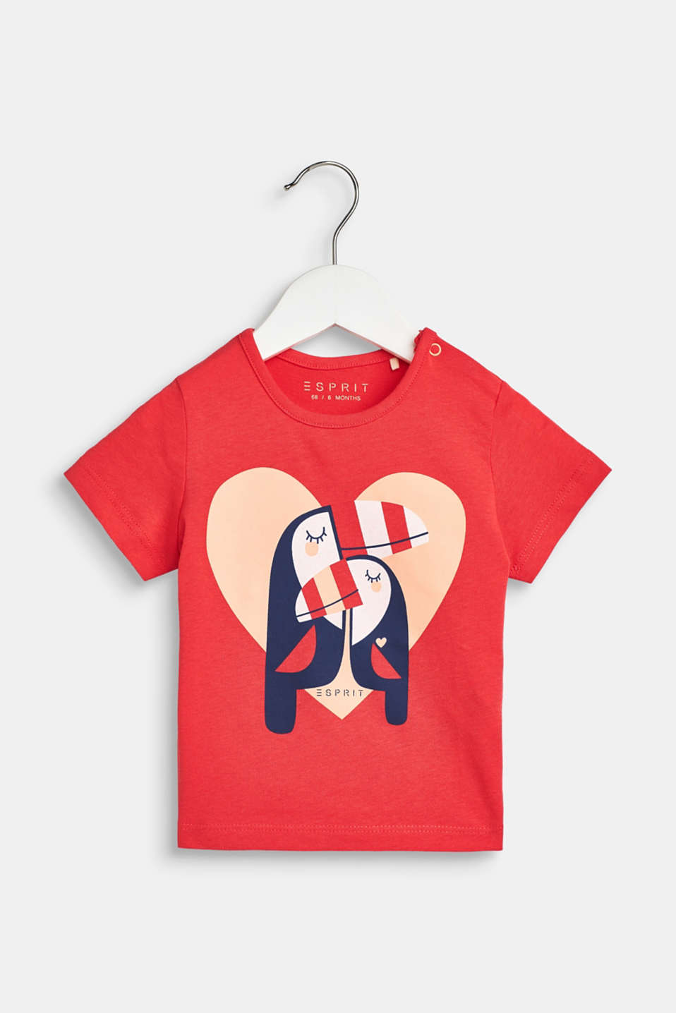 T-shirt with toucan print, 100% cotton, LCWATERMELON, detail image number 0