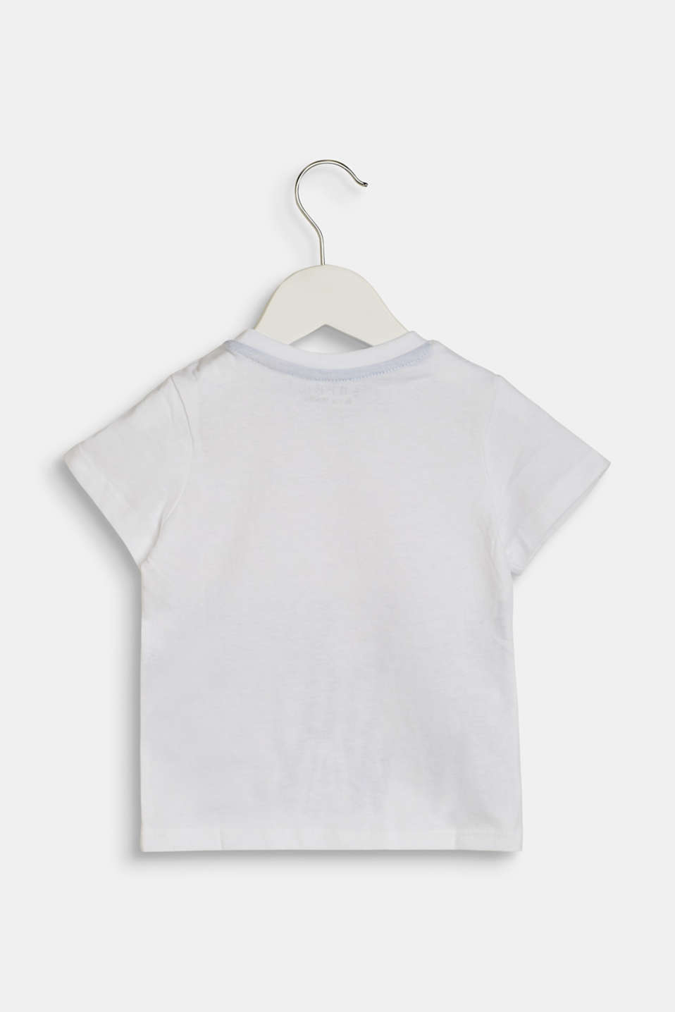 T-shirt with a statement print, made of 100% cotton, LCWHITE, detail image number 1