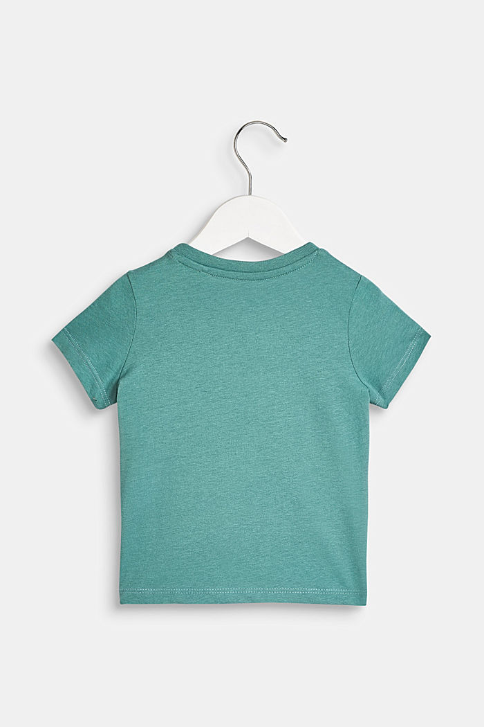 T-Shirt mit Affen-Print, 100% Baumwolle, LCSOFT GREEN, detail image number 1
