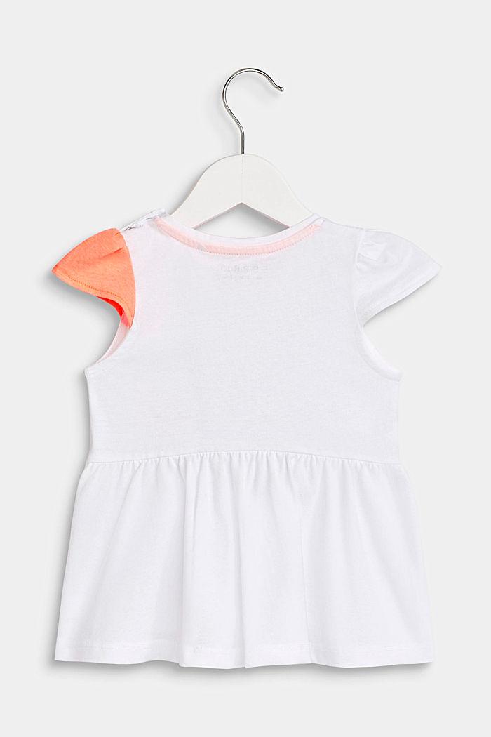 Shirt met print in speels model, WHITE, detail image number 1