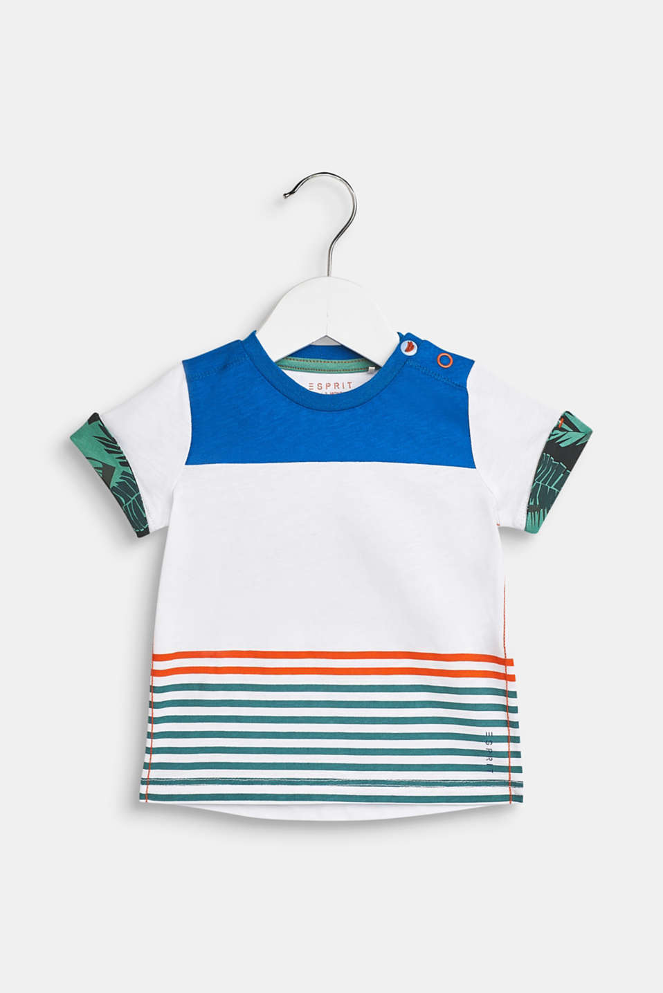 Esprit - Striped T-shirt, 100% cotton