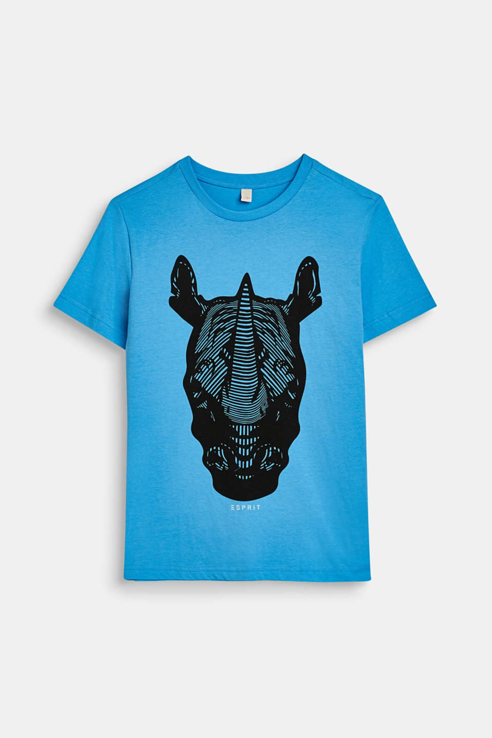 Esprit - Top with a rhino print, 100% cotton