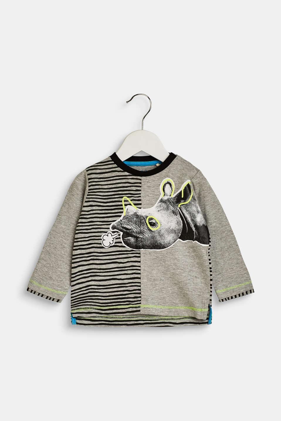 4654702e8b1c3 Esprit   T-shirt à manches longues et imprimé rhinocéros à acheter ...