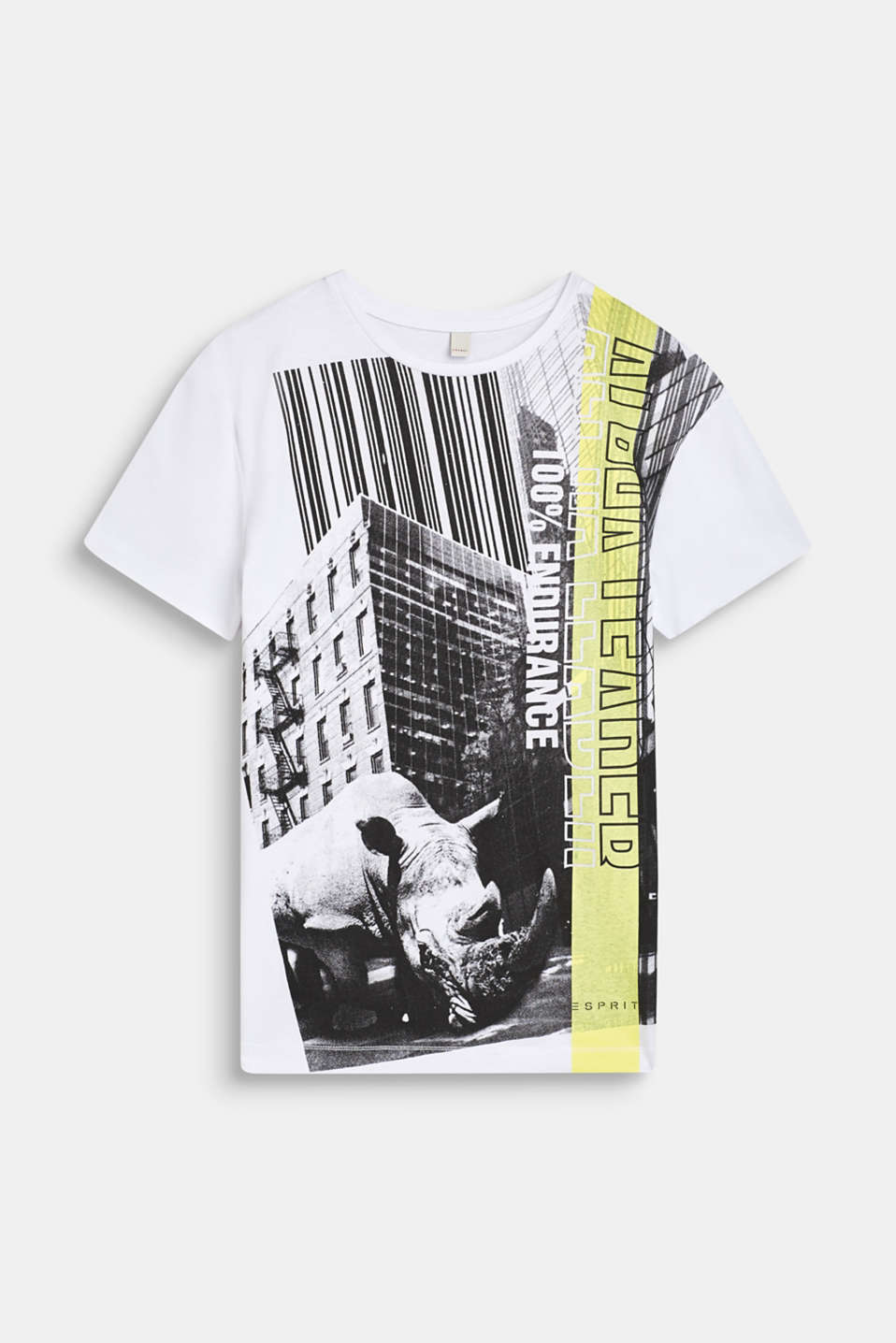 Esprit - T-shirt with an urban photo print