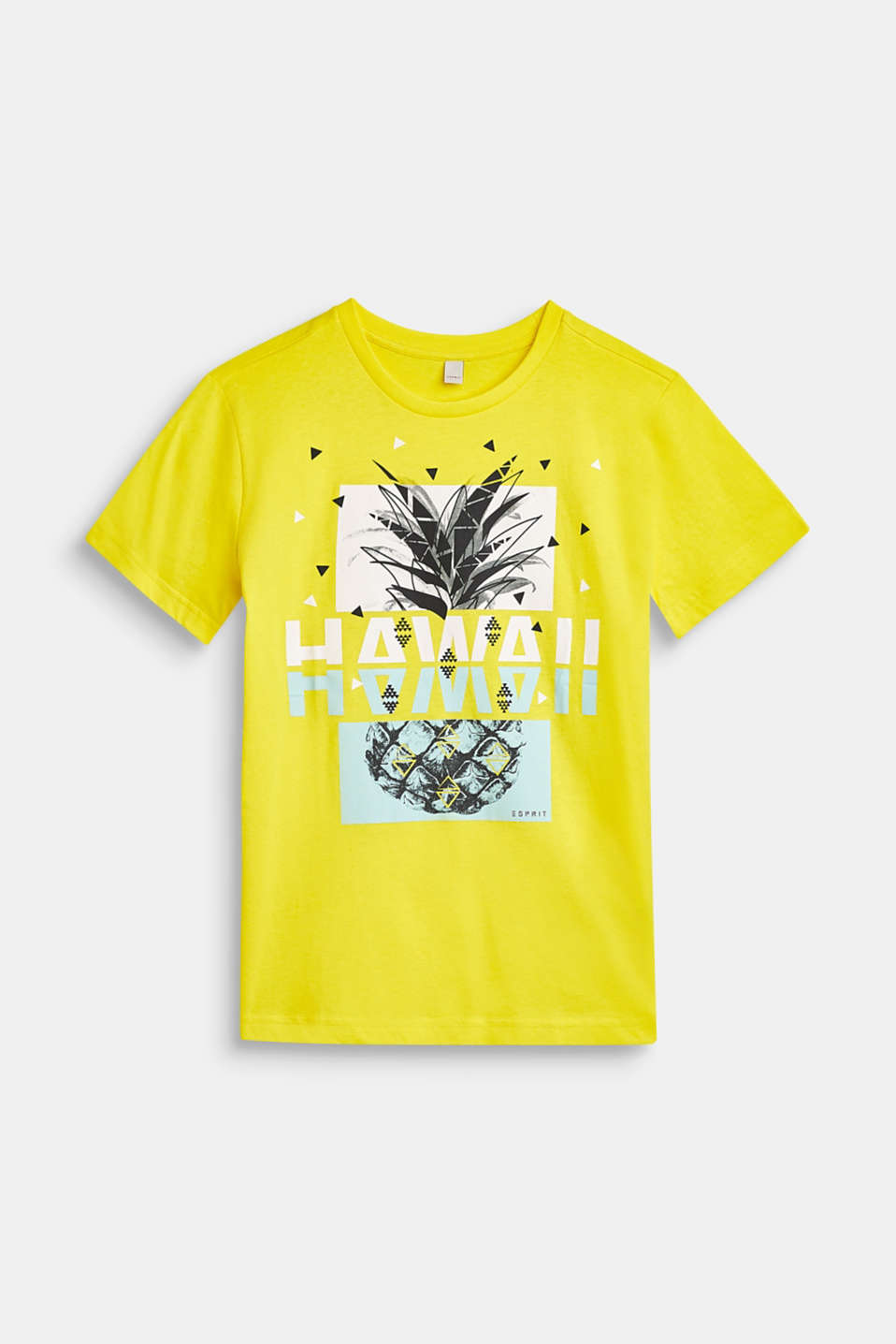 Esprit - 100% cotton T-shirt with a mixed front print