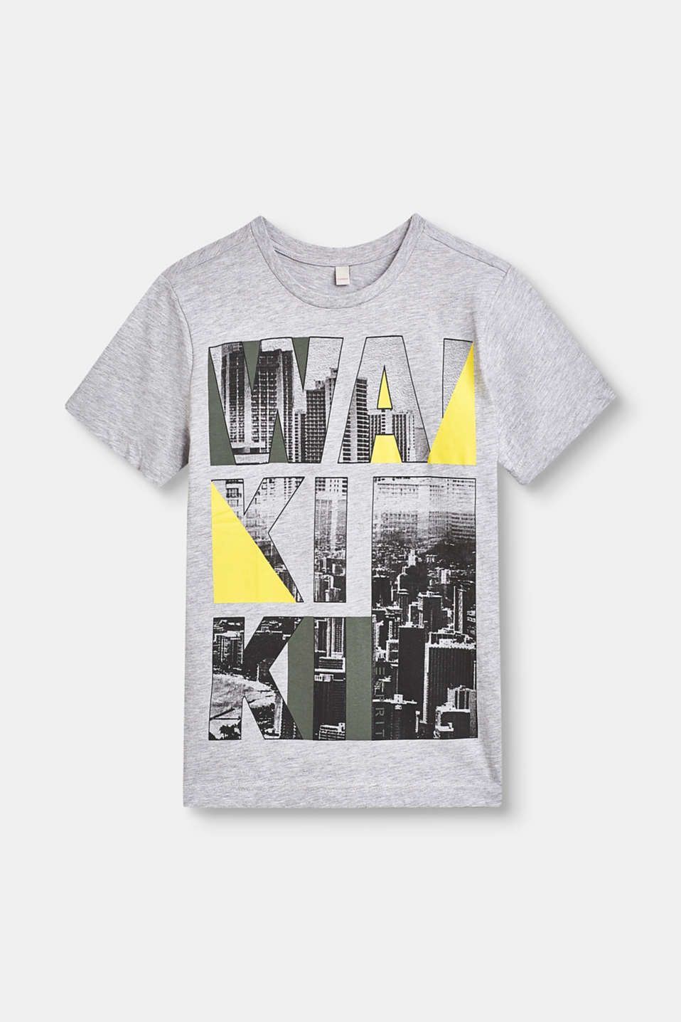 Esprit - Top with a photo print made of 100% cotton