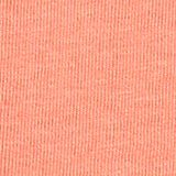 Front print T-shirt, 100% cotton, CORAL, swatch
