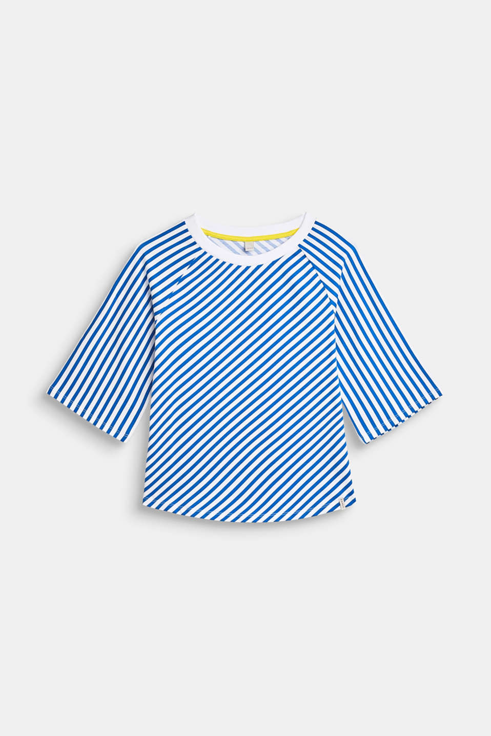 Esprit - Stretch tee with wide raglan sleeves