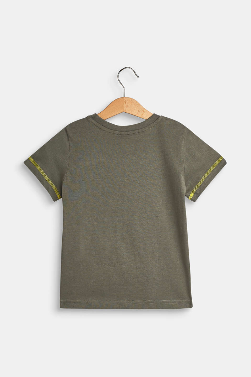 T-Shirts, LCLIGHT KHAKI, detail image number 1