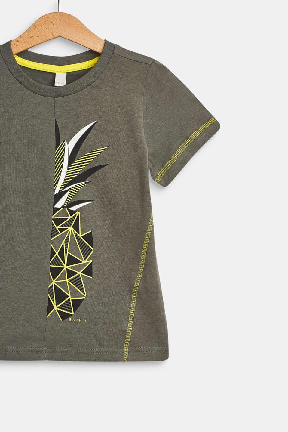 T-Shirts, LCLIGHT KHAKI, detail image number 2
