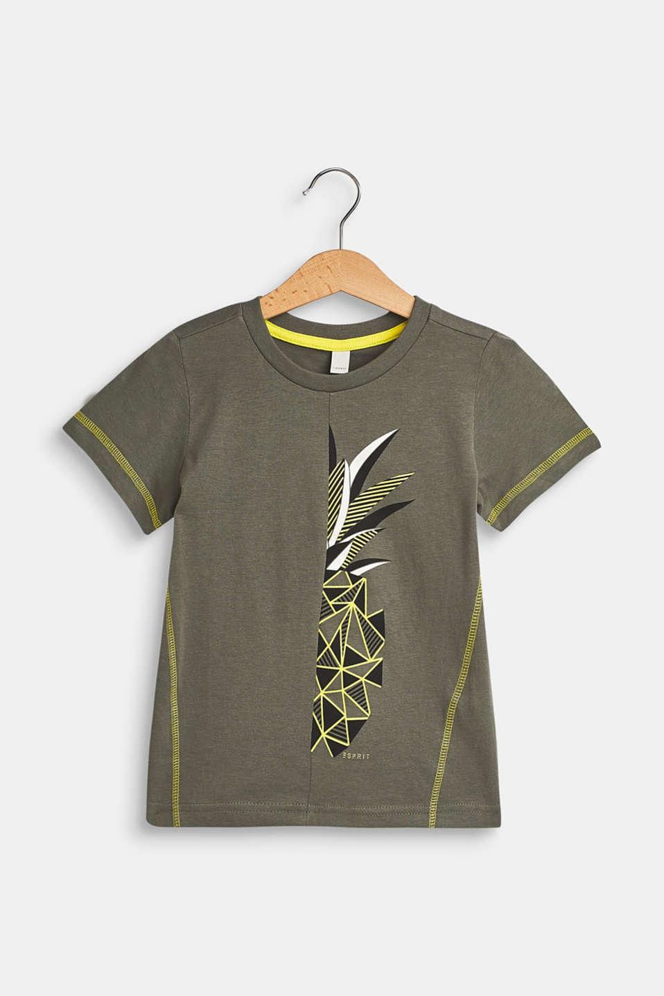 T-Shirts, LCLIGHT KHAKI, detail image number 0