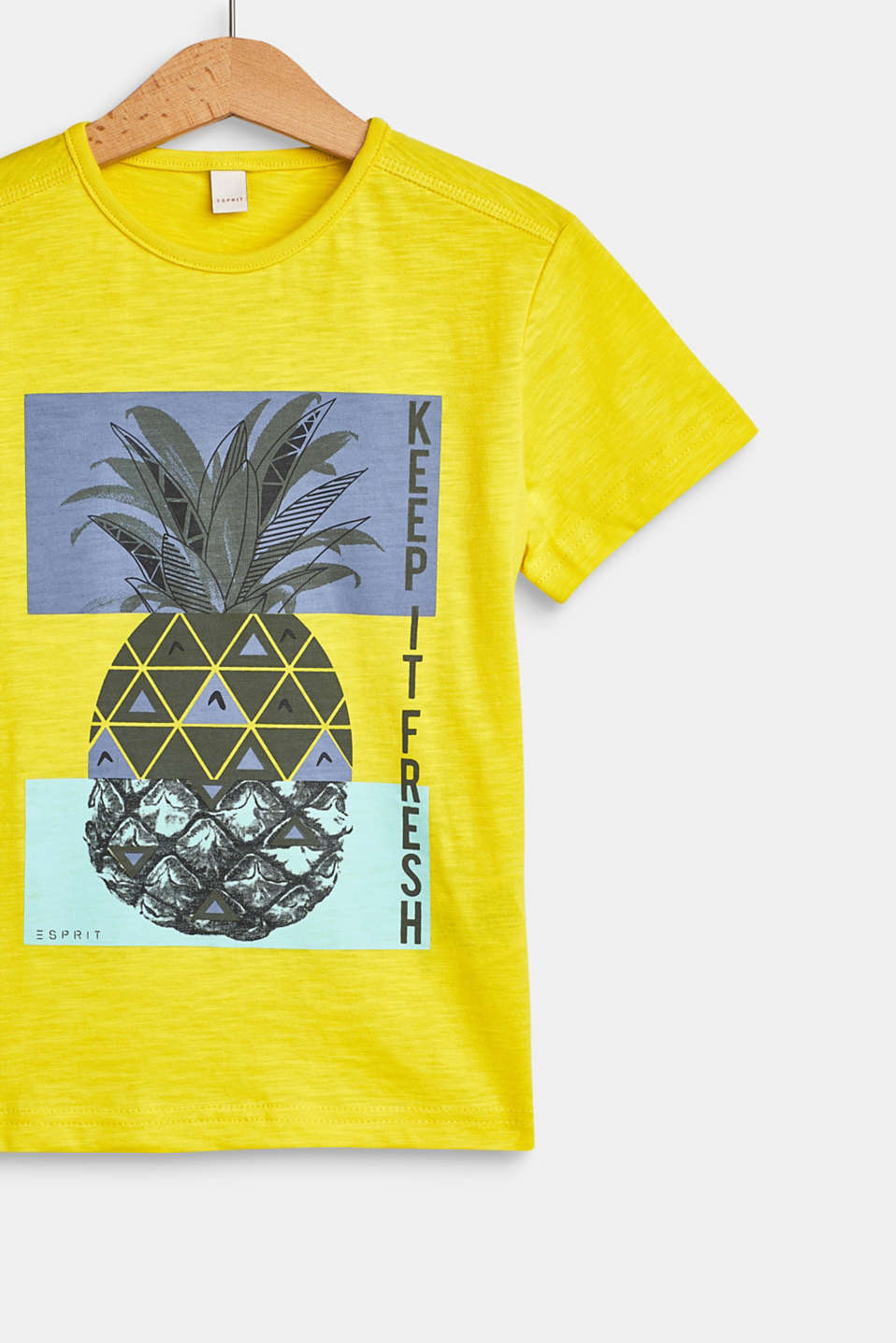 T-Shirts, LCBRIGHT YELLOW, detail image number 2