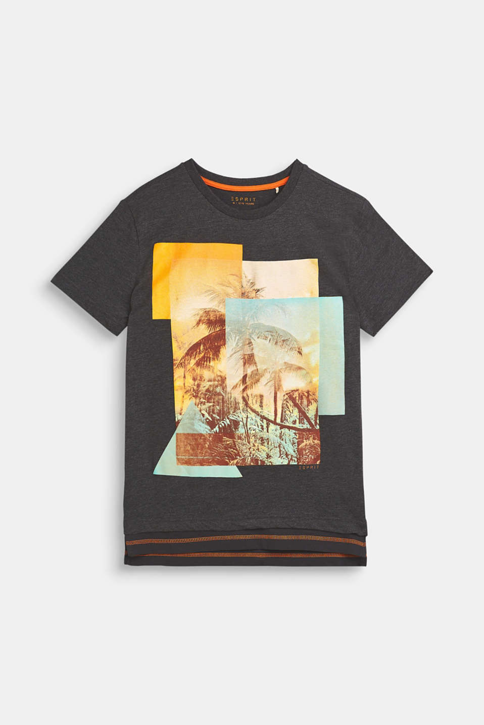 Esprit - Photo print T-shirt, blended cotton